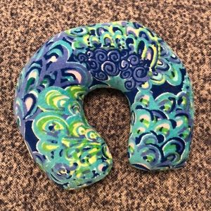 Lilly Pulitzer GWP Neck Pillow